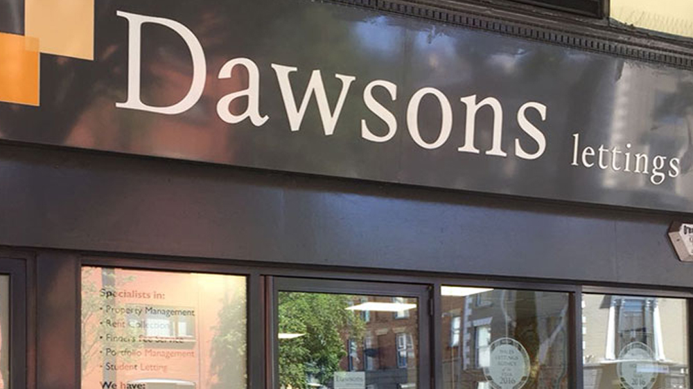 Front of Dawsons Swansea Lettings branch