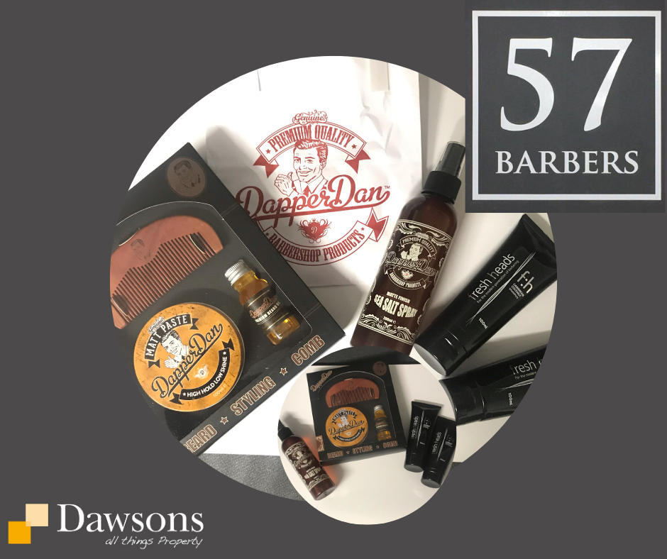 Giveaway number 6 57 Barbers Dawsons FB