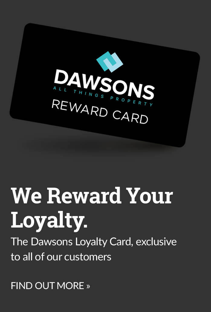 Dawsons reward card ad